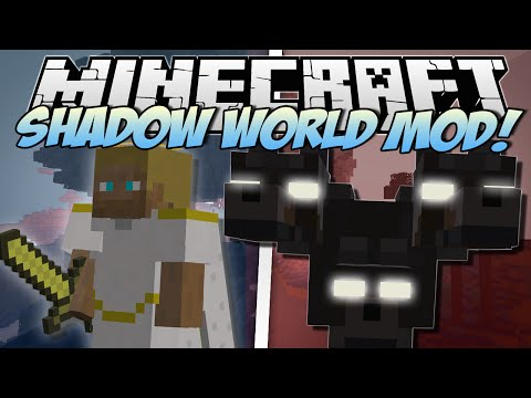 Minecraft | SHADOW WORLD MOD! (Creepiest Mod EVER!) | Mod Showcase Music Videos