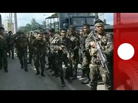 Fighting escalates as Philippines forces attack Muslim rebels in the south