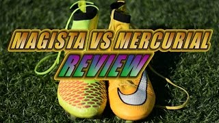 Nike Magista Obra vs Nike Mercurial Superfly IV Review | Which are the differences?