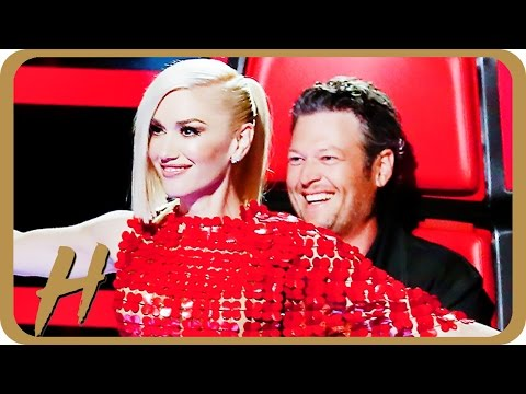 Gwen Stefani & Blake Shelton Flirt BIG TIME on 'The Voice'