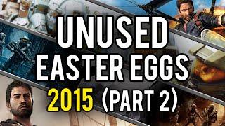 Best Unused Video Game Easter Eggs of 2015 (Part 2)