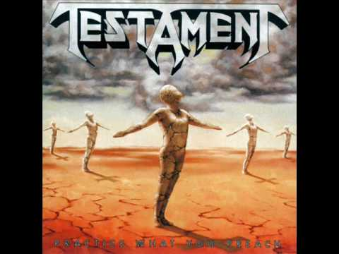 Testament - Blessed In Contempt