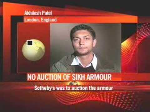 Sotheby s not to auction Sikh armour