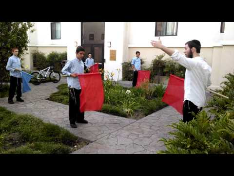 DAY #3 - CHEDER MENACHEM FLAG PROCESSION