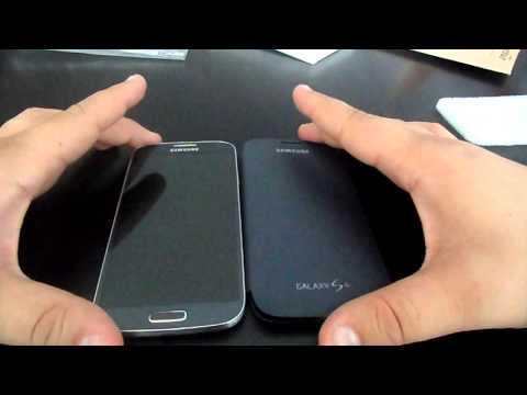 Dballage Flip Cover officiel Samsung Galaxy S4 / French Unboxing EF-FI950BB Etui rabat