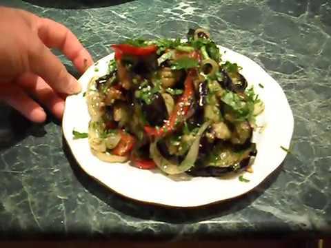 """Соте из баклажанов """"Пальчики оближешь"""" .Горячая закуска.Dishes from eggplant.brinjal .Hot appetizer."""