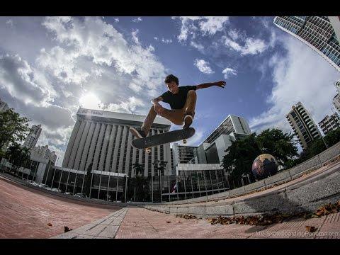 3 con Fernando Bonilla - Skateboarding Panama