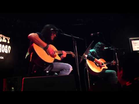 Michael Sweet & Oz Fox - My Love I'll Always Show - Live at The Whisky Hollywood, Ca. 8-14-13