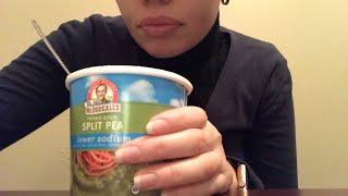 Eating Show #3- Vegan Soup & Salt & Vinegar Chips