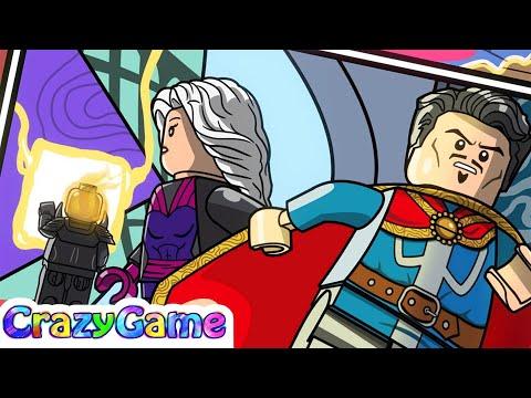#LEGO MARVEL's Avengers Complete Walkthrough #19 ANAD Doctor Strange (4K)