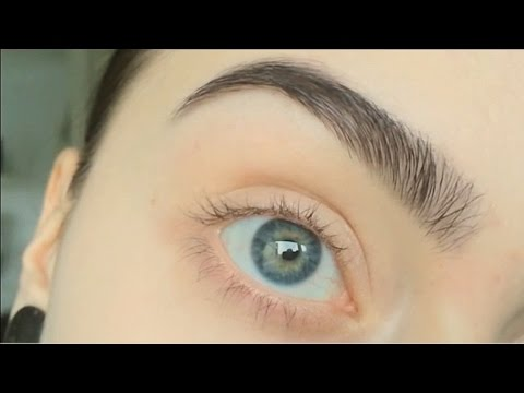 REQUESTED: how I dye. pluck and trim my eyebrows
