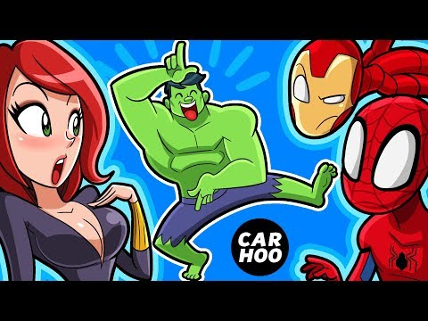WHAT IF HULK DID THIS TO THE AVENGERS【Marvel Superheroes/ Fortnite Parody】