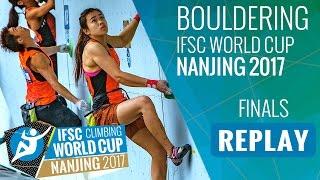 IFSC Climbing World Cup Nanjing 2017 - Bouldering - Finals - Men/Women