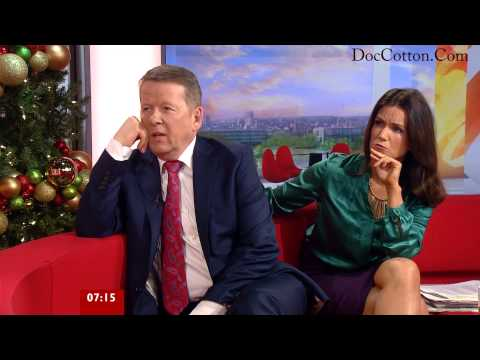 Susanna Reid Wearing Nylon Showing off her Sexy Legs