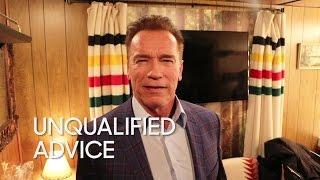 Unqualified Advice: Arnold Schwarzenegger