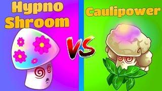 Plants vs Zombies 2 Hypno-Shroom vs Caulipower NEW!
