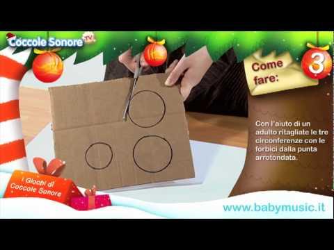 Decorazione natalizia tutorial per bambini di coccole for Youtube lavoretti per natale