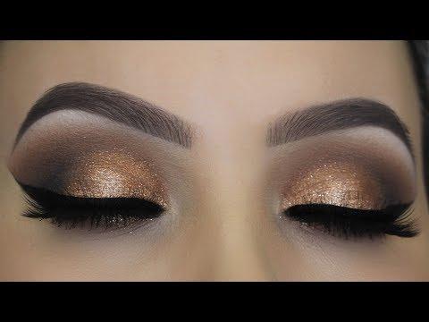 Daytime Bronze Smokey Eyes Tutorial - Jeffree Star Thirsty Palette