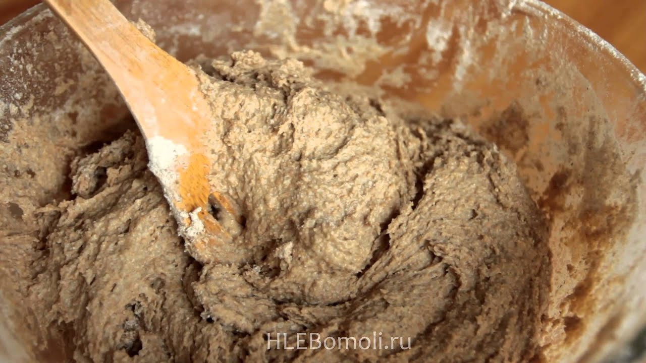 Рецепт ржаного хлеба в духовке на закваске в домашних условиях