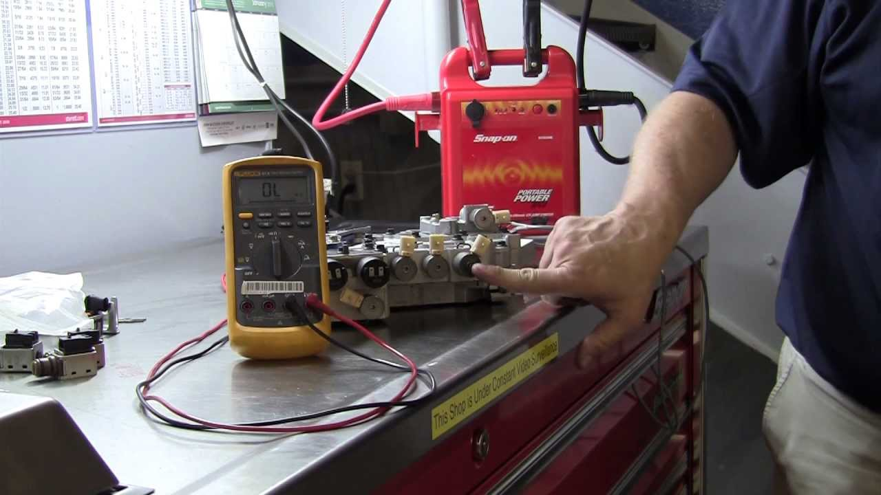 Automatic Transmission Basic Solenoid Testing Youtube