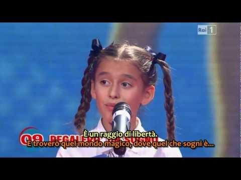Regalerò un sogno Lo Zecchino dOro 2011 HQ con sottotitoli
