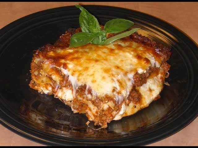My Favorite Lasagna Recipe