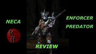 NECA Enforcer Predator Action Figure Review