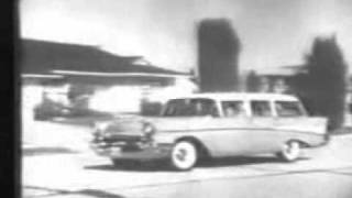 1957 Chevrolet Station Wagons Commercial