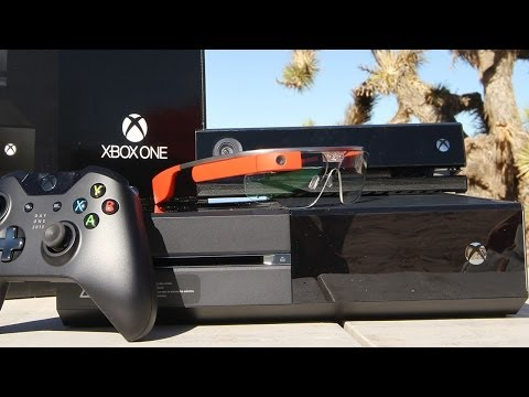 Xbox One - Unboxing at the Range Through Google Glass