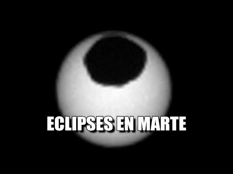 Eclipses en Marte! Curiosity de la NASA capta a Fobos y Deimos pasando delante del Sol