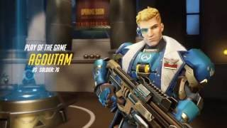"""Target Rich Environment "" Overwatch Soldier 76 Gameplay"