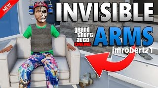GTA 5 Online - SOLO Invisible Arms Outfit Glitch! Best No Arms Modded Clothing! GTA 5 Glitches!
