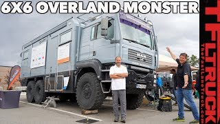 Move Over EarthRoamer! This 6X6 Overlanding Truck Makes Other Off-Roaders TREMBLE in Fear!!