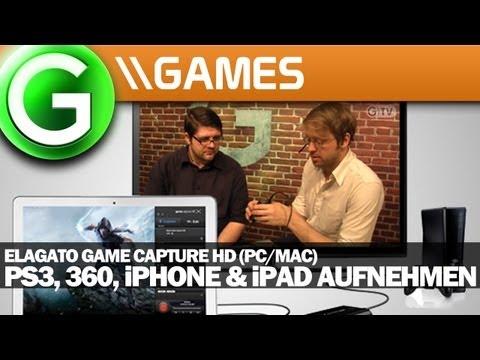 So geht's: Let's Plays aufnehmen für PS3, 360, iPhone & iPad - Elgato Game Capture HD