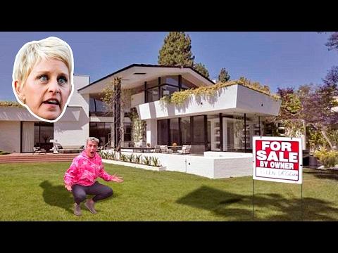 I PUT ELLEN DEGENERES HOUSE UP FOR SALE (PRANK)