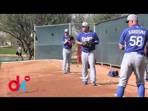 Ryu Hyun-Jin & Dodgers Spring Training