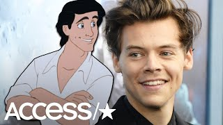 Harry Styles In Talks To Play Prince Eric In Disney's 'The Little Mermaid'