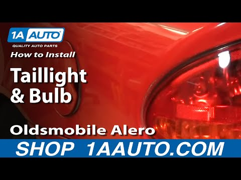 How To Install Replace Taillight and Bulb Oldsmobile Alero 99-04 1AAuto.com
