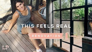 THIS IS STARTING TO FEEL REAL NOW: RENOVATION VLOG | Lily Pebbles