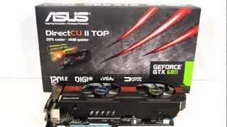 ASUS GTX 680 DirectCU II TOP Overview at HiTechLegion.com