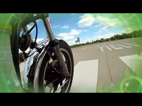 Electric Motorcycle Joy Ride