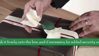 OASIS® Floral Products ~ How To ~ Too Good To Unwrap