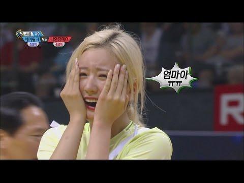 [Idol Star Athletics Championship] 아이돌스타 선수권대회 2부 - A pink VS Nine Muses Korean wrestling 20150929