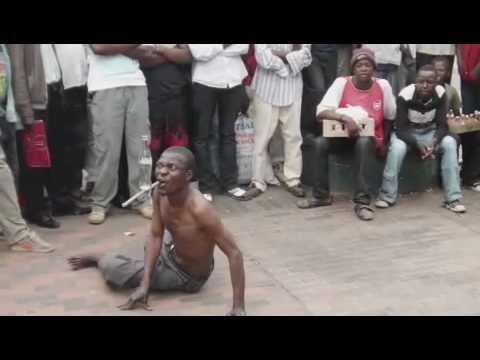 Street Performer In Zimbabwe Part 3 video