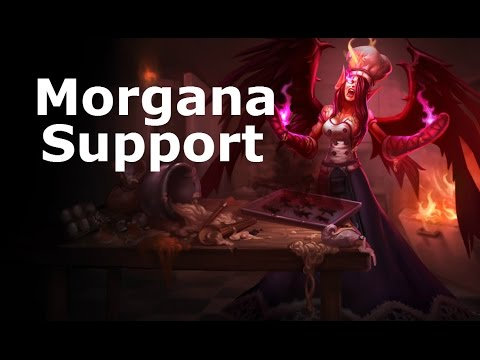 [S4/D1] Morgana Support, Ranked Game Commentary!