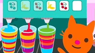 Fun Sago Mini Games - Baby Learning New Color Number Alphabet Shapes Sorting With Sago Mini Pet Cafe