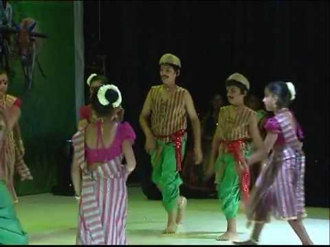 Dennana dennana Denna song by Bharathi kids on Indian Night