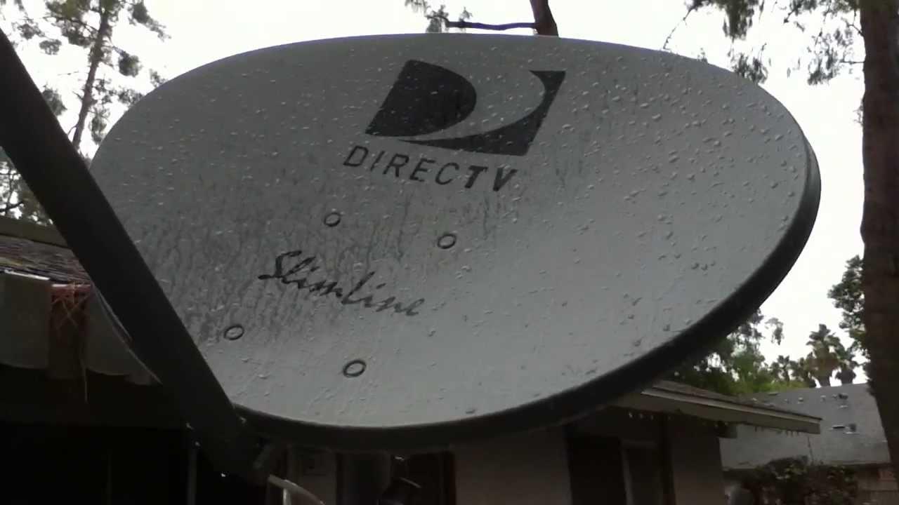 My DirecTV Slimline Setup again YouTube