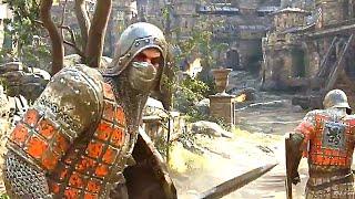 FOR HONOR Samurai Viking Knight GAMEPLAY (PAX West 2016)