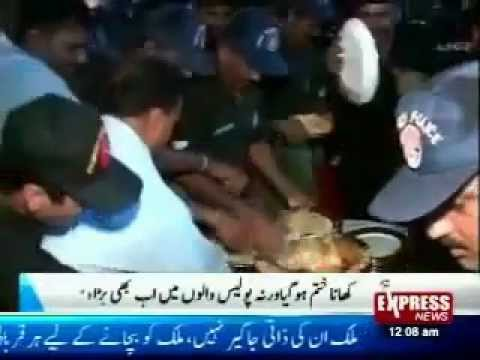 Lyari Police Operation UnSuccessful but Food Khana Operation was Successful